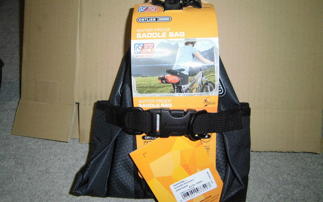 ORTLIEB Saddle Bag L Size Appearance 1