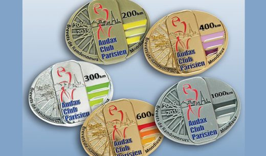 ブルベのメダル2015