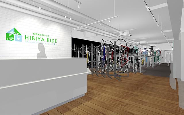 HIBIYA RIDEバイクステーション