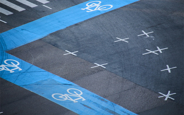 自転車ナビルートヘッダ