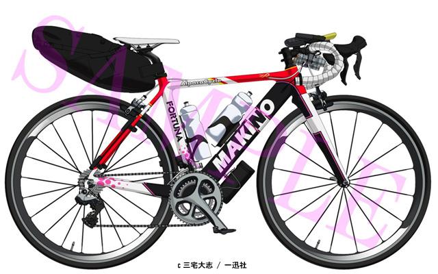 ろんぐらいだぁす高宮紗希のロードバイク参考画像