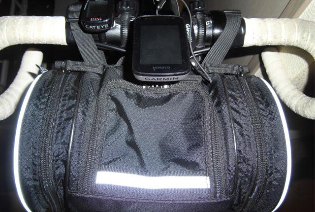 R250ドラム型フロントバッグ取り付けイメージ