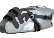 ワールドサイクルのR250防水大型サドルバッグラージ試用レビュー